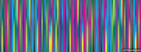 Colorful Stripes Facebook Cover