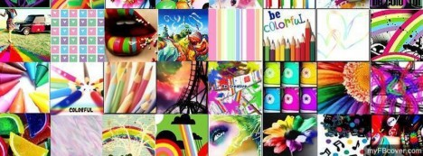 Colourful Facebook Cover