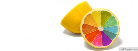Lemon Colour Facebook Cover