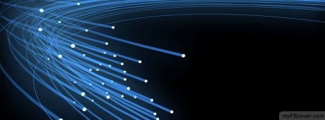 Light Fibers Facebook Cover
