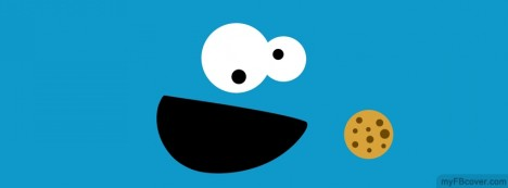Cookie Monster Facebook Cover