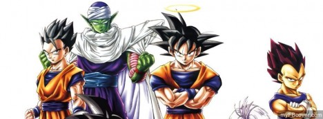Dragonball Z Facebook Cover