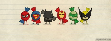 Mini Heroes Facebook Cover