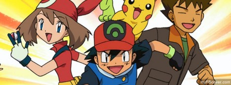 Pokemon friends Facebook Cover