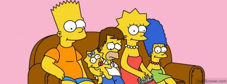 Simpsons Facebook Cover
