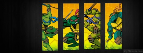 Teenage Mutant Ninja Turtles Facebook Cover