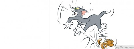 Tom And Jerry Facebook Cover