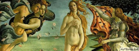 Birth of Venus Facebook Cover