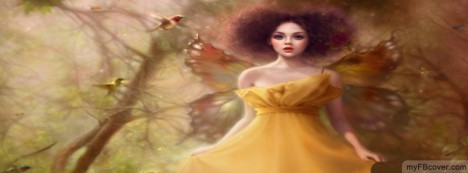Fairy Angel Facebook Cover