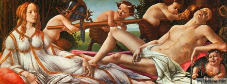 Venus and Mars Facebook Cover