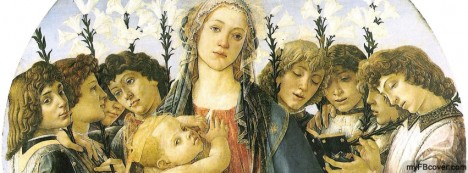 Virgin Child Angels Facebook Cover
