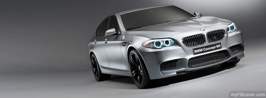 BMW M5 facebook cover