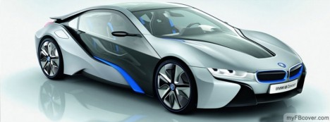 BMW i8 Facebook Cover