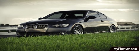 Black BMW Facebook Cover