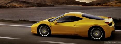 Ferrari 458 Facebook Cover