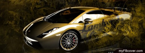 Lamborghini Gallardo Facebook Cover