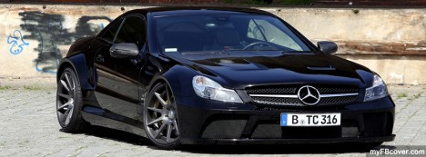 Mercedes SL65 Facebook Cover