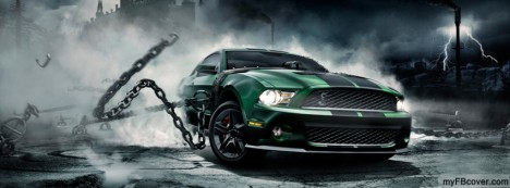 Mustang Monster Facebook Cover