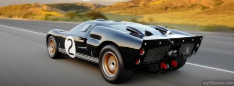 Shelby GT40 Facebook Cover