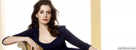 Anne Hathaway Facebook Cover