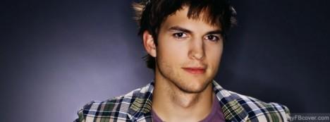Aston Kutcher Facebook Cover