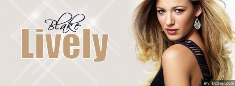 Blake Lively Facebook Cover