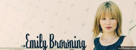 Emily Browning Facebook Cover