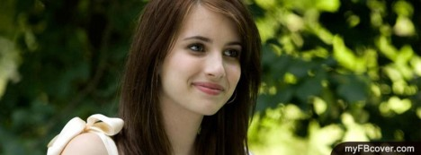 Emma Roberts Facebook Cover