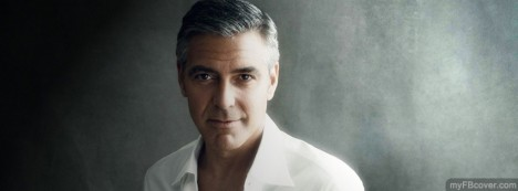 George Clooney Facebook Cover
