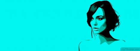 Keira Knightley Facebook Cover