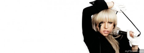 Lady Gaga Facebook Cover