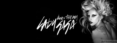 Lady Gaga2 Facebook Cover