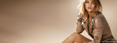 Rosie Huntington Facebook Cover