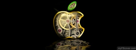 Apple Mechanical logo Facebook Cover