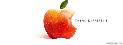 Apple think different Facebook Cover