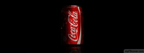Cocacola Can Facebook Cover
