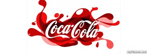 Cocacola logo Facebook Cover