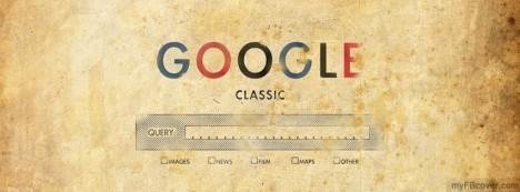 Google Classic Facebook Cover