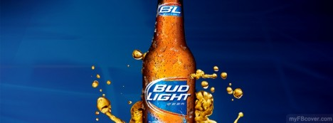 Bud Light Facebook Cover