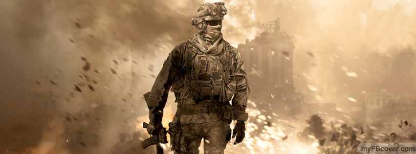 Call Of Duty MW3-2 Facebook Cover