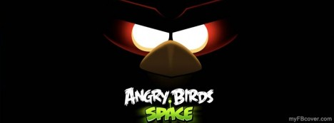 Angry Birds Space Facebook Cover