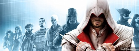 Assassins Creed Brotherhood Facebook Cover