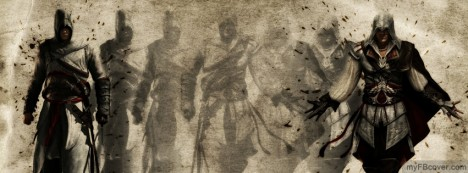 Assassins Creed Transformation Facebook Cover