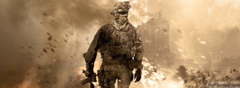 Call of Duty MW3 Facebook Cover