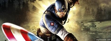 Captain America Facebook Cover