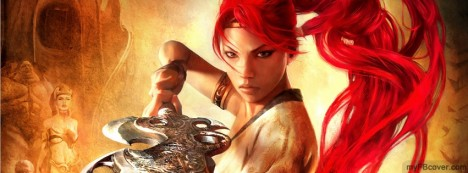 Heavenly Sword Facebook Cover