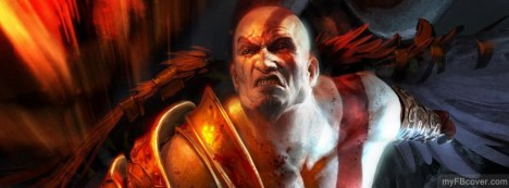 Kratos-God of War Facebook Cover