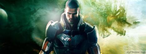 Mass Effect Facebook Cover
