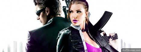 Saint Row Third Facebook Cover