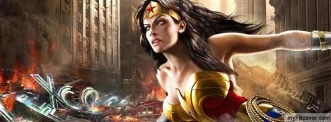 Wonder Woman Facebook Cover